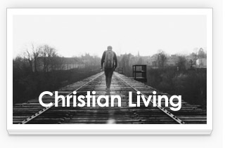 Link to Christian Living Studies: Man Walking on Path